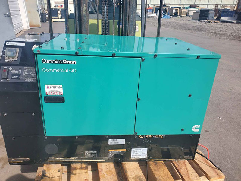 Cummins Onan generator commercial generator in Michigan