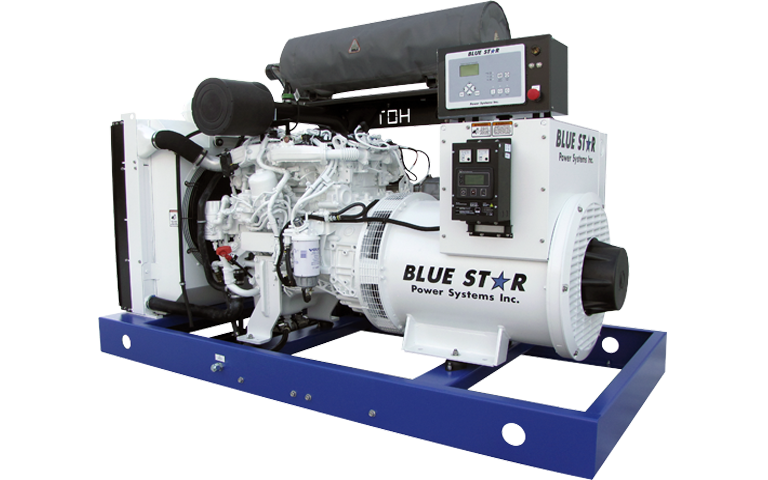 Blue Star commercial and industrial generators in Michigan